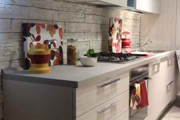 cabinet contemporary cookware counter