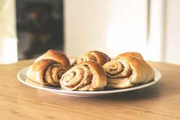 baking bread breakfast bun